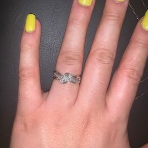 Size 7 Purity ring/promise ring/engagement ring